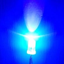 100PCS UV Led Chip Diode  Ultravioleta Diodes Diodo 5mm LED Ultraviolet Ultra Emitting F5 Light DIY