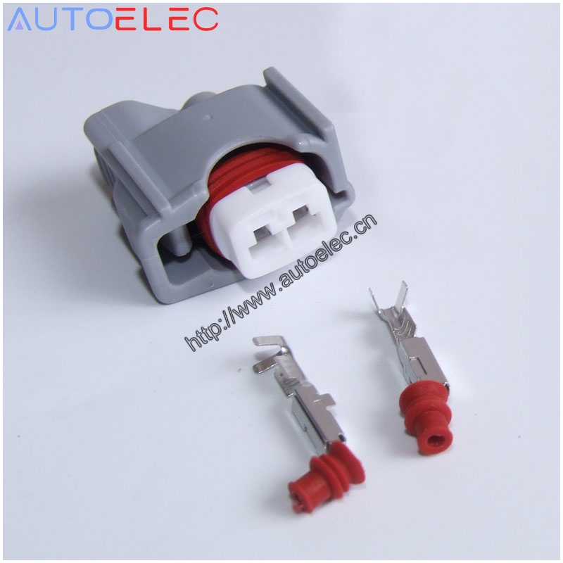 200Kits 2 Pin Denso 850cc automotive EFI Female connector 6189 0611 regulator Waterproof Electrical Wire Plug