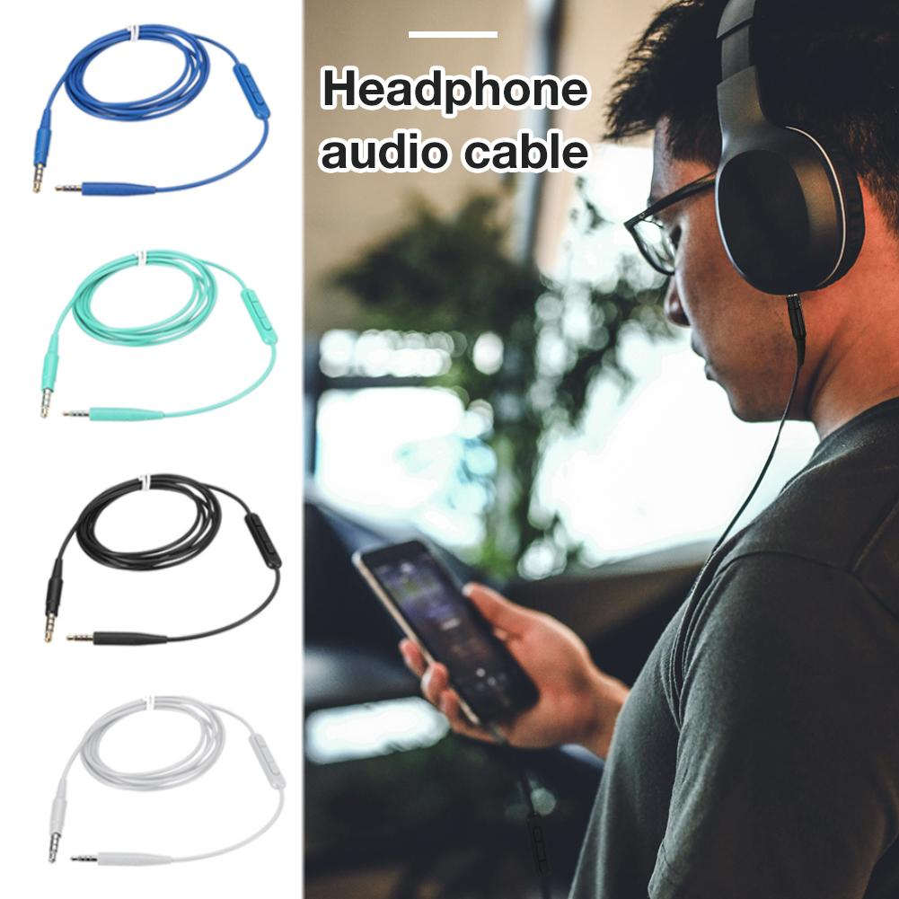4 Colors Microphone Cable Headphone Audio Cable For Bose Soundtrue Ear With Mic QC35 QC25 OE2 Cable Headphone Audio Portable image