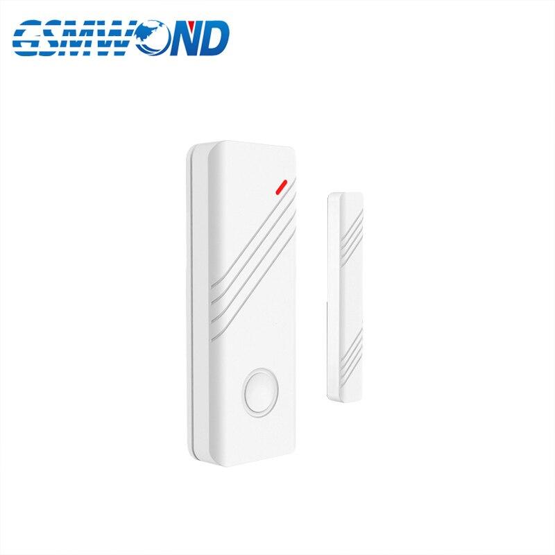 433MHz Wireless Door Window Open Detector Door Sensor Alarm For Our Wifi GPRS APP RFID GSM  Home Burglar Alarm System