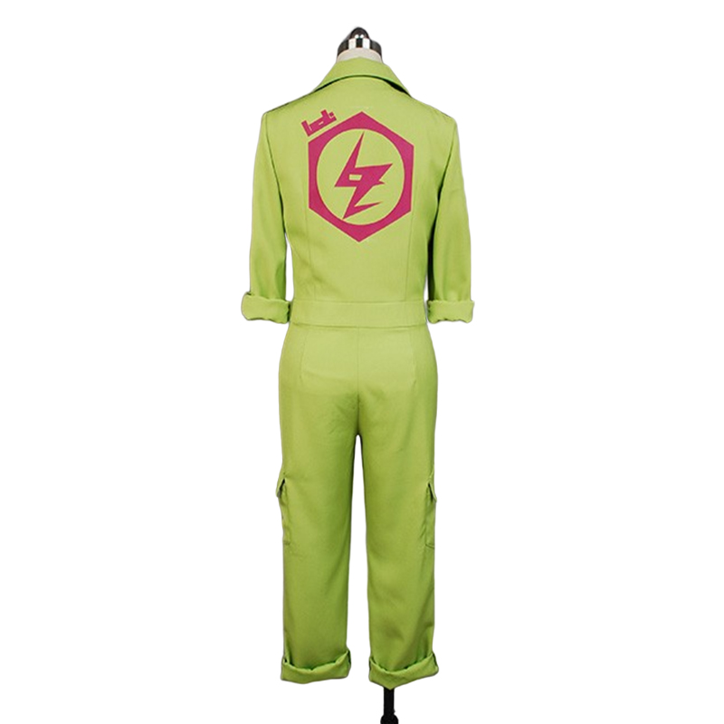 Image 4 - Super DanganRonpa Cosplay Kazuichi Costume Kazuichi Souda Full Set Uniform Jumpsuit With Hat Outfit Halloween Costume vest wig-in Movie & TV costumes from Novelty & Special Use