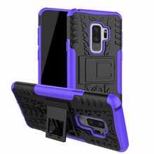TPU+PC Phone Stand Cover For Samsung Galaxy S6 S7 Edge S4 S5 Mini Grand Prime A8 A9 Star Coque For Samsung S8 S9 Plus Case