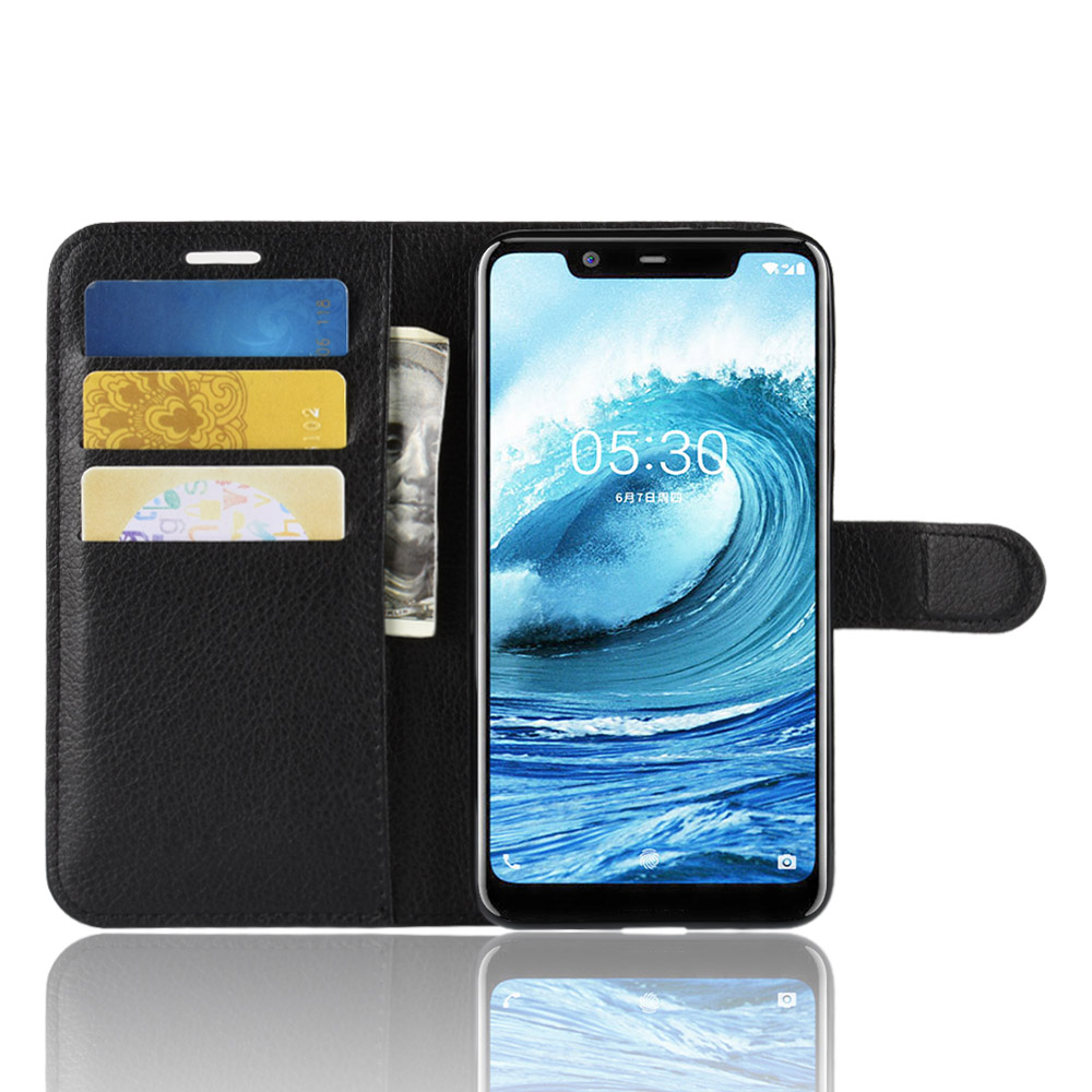 Phone Case For Nokia 5.1 Plus 5.1plus X5 Flip PU Leather Back Cover Case For Nokia 6.1 Plus 6.1plus X6 Phone Coque Funda Case