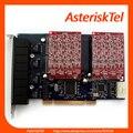 Digium FXO TDM800P with 8 ports,Asterisk Card PCI Asterisk Analog Board with 8 FXO ports,Supports Asterisk, Elastix,FreePbx
