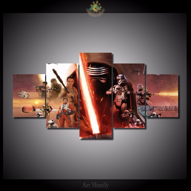 Poster Star Wars Family For Home Decoration