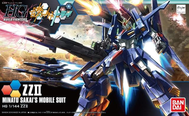 Original Gundam HG 1/144 Model GUMDAM Z II MINATO SAKAI'S Mobile Suit THE ORIGIN GTO Kids Toys
