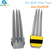 Toy Swords Claw Wolf Cosplay Weapon Movie Kids Super-Hero Plastic 1pc 25cm Gifts Personal