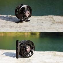 3BB Ball Bearing Full Metal Fly Fishing Reel Former Rafting Ice Fishing Reel Vessel Wheel Left/Right Interchangeable Fish Reel