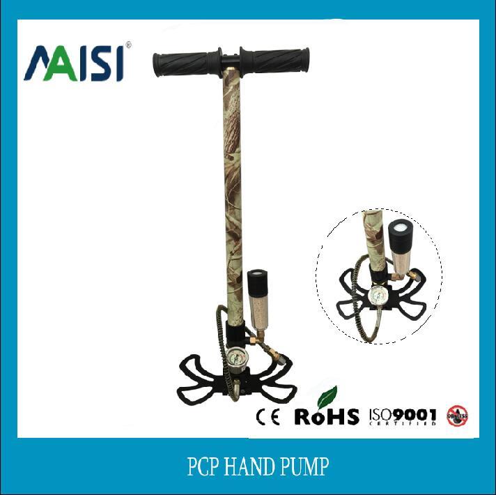 JUFENG 4500PSI PCP Pump Air dry 300bar Three stage high pressure paintball Hand Operated Air pump Hand Car Mini Air Gun Pump