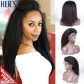 Yaki Full Lace Wigs Human Hair Glueless Lace Front Human Hair Wigs,Natural Full Lace Human Hair Wigs Glueless Full Lace Wigs