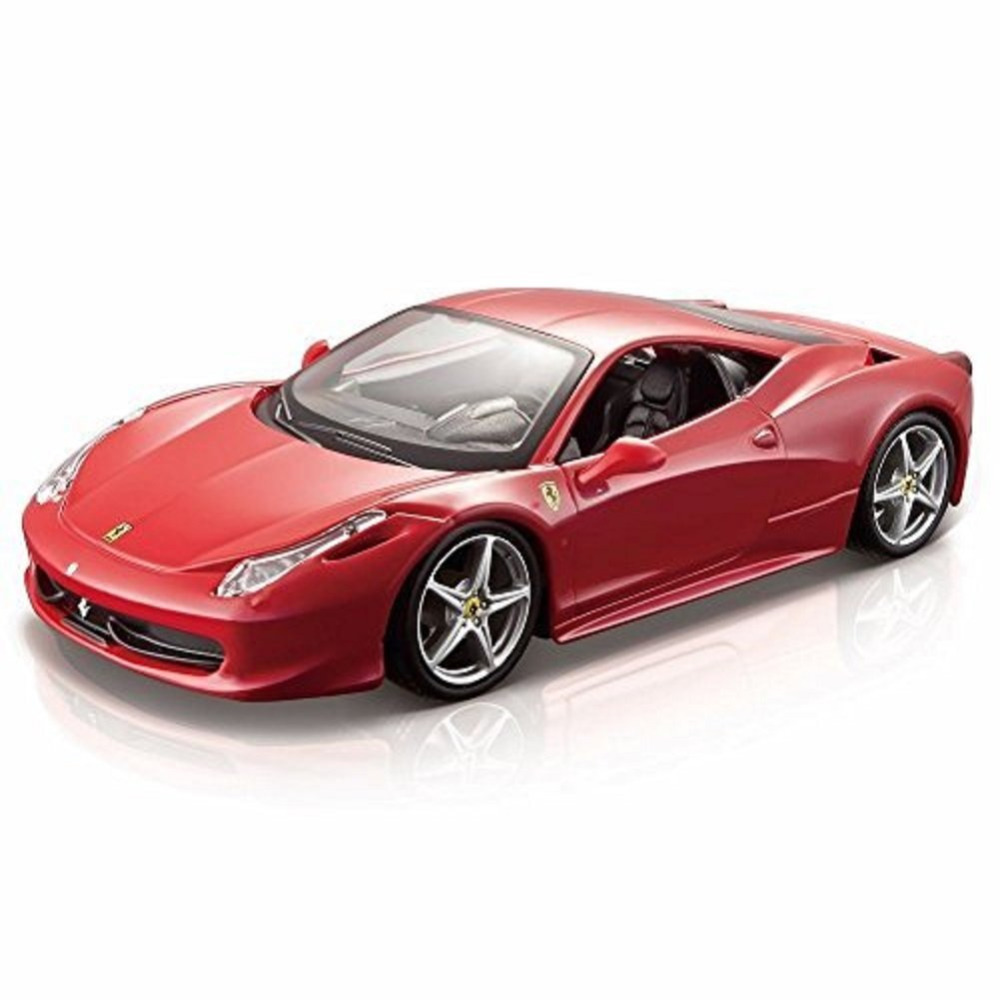 Maisto Bburago 1 24 458 Italia Diecast Model Car Toy New In Box Free Shipping