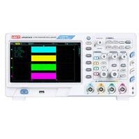 UNI T UPO2074CS ультра люминесцентный осциллограф 2CH 70 МГц 1GSa/s USB ПК Scopemeter хост Osciloscopio 8 дюймов TFT ЖК дисплей CE/ETL утвержден