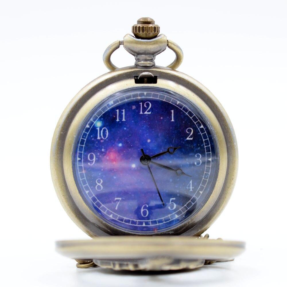 Cindiry Retro The Little Prince Bronze Quartz Pocket Watch Fallout Full Metal Alchemist Chain Time Necklace Men Womens Kids Gift