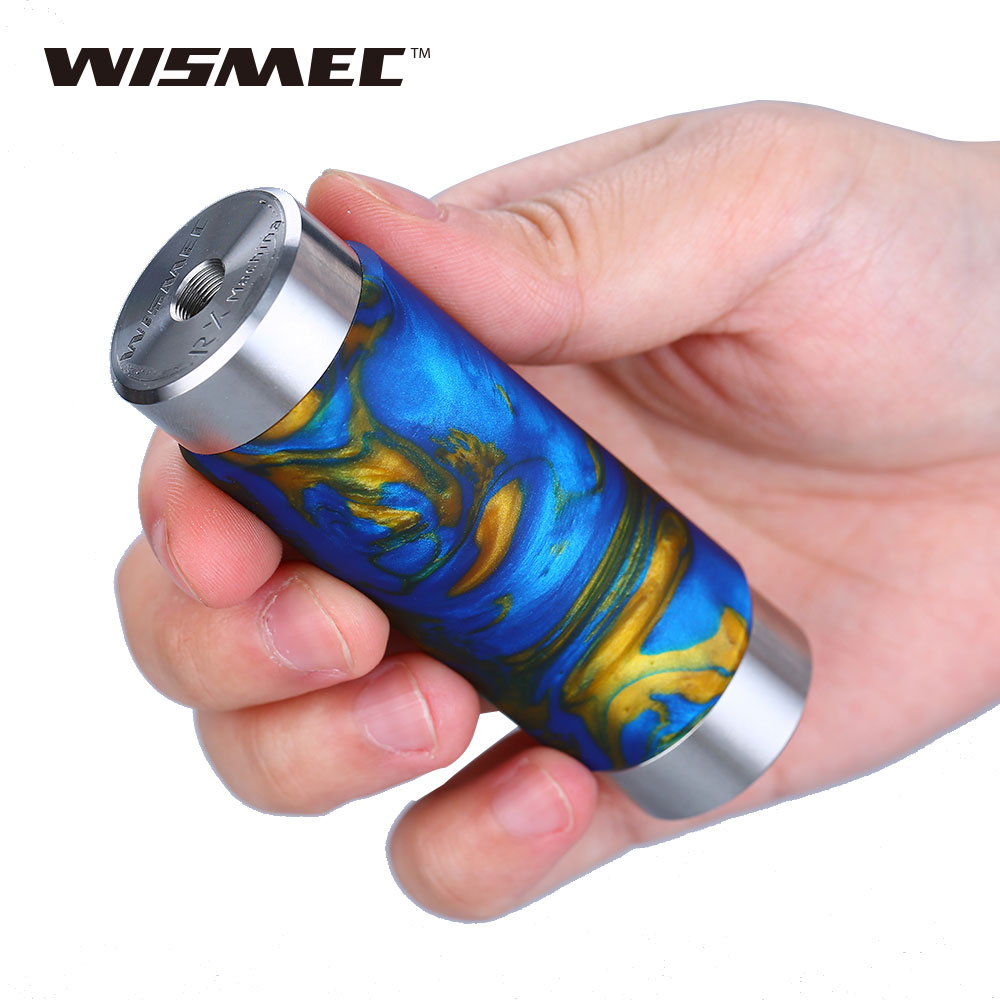 Original WISMEC Reuleaux RX Machina 20700 Mech MOD with 3000mAh Battery Powerful & Safe Vaping Reuleaux RX Machina Vape Battery wismec reuleaux rx mini resin version 80w rxmini box mod vape hookah with 2100mah built in battery