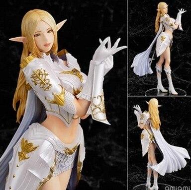 Бесплатная доставка новый Lineage II 2 сексуальная девушка пвх фигурку коллекция модель игрушки