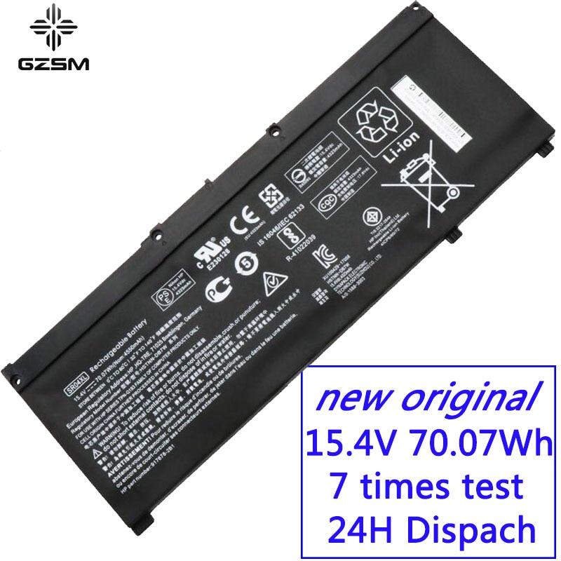 GZSM Laptop battery SR04XL for HP OMEN 15 CE 15 cb 15 CE015DX TPN Q193 TPN Q194  TPN C133 TPN C134 HSTNN DB7W 917724 855 battery-in Laptop Batteries from Computer & Office