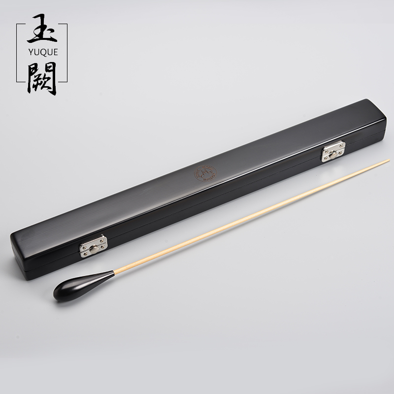 High-Quality Birch Baton Music Gifts Conductor dedicated (handmade box / Dispyyosspp Wooden handle + wooden stick) ...