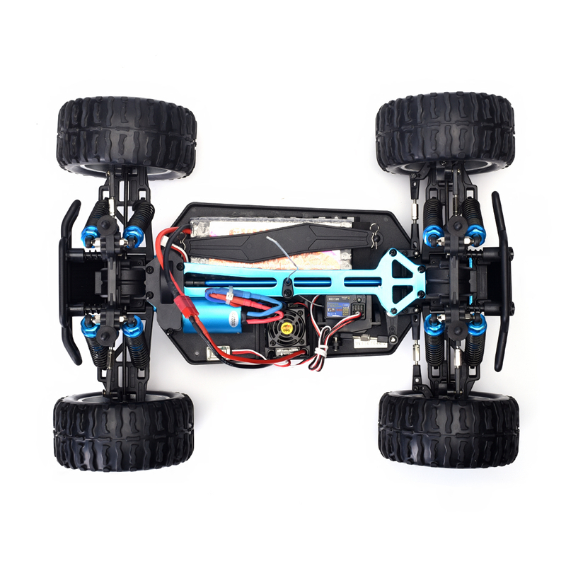 HSP Rc Car 1/10 Scale Off Road Monster Truck 4wd Remote Control Car 94111 High Speed Brushless Electric Car Remote Control Toys 02023 clutch bell double gears 19t 24t for rc hsp 1 10th 4wd on road off road car truck silver
