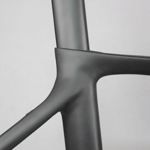 Image 3 - ベストセラー固定ギア安価な中国カーボンファイバー自転車フレームFM269
