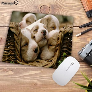 Image 4 - Mairuige Promotion Russia Cute Dog Small Mouse Pad Office Creativity Mouse Mat Gaming Mouse Pad 220X180X2MM Computer Mousepad