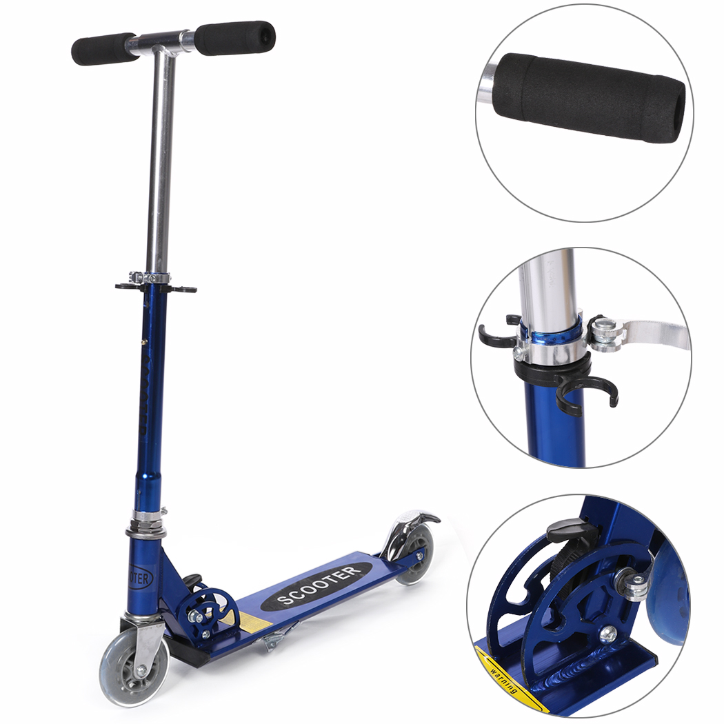 Ancheer Foldable Kick Scooters Portable Adjustable Handle Childrens Scooter Foot Scooters for Kids Patinetes Trottinette