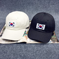 Hot Sale Casquettes 2017 Verão Novo Hip Hop Cap Korea ulzzang harajuku bandeira bordado snapback chapéu para mulheres dos homens de beisebol tampas