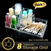 Acrylic Makeup Organizer Cosmetic Organiser Lipstick Holder Case Make Up Transparent Acrylic Holder Storage Box EQC369