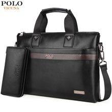 ff9dcc3b2a9a (Отправка из RU) VICUNA POLO, лидер продаж, модная простая мужская деловая  сумка-портфель в горошек от известного бренда, кожаная сумка для ноутб.
