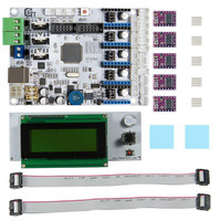 New Arrival 3D Printer Motherboard GT2560 DRV8825 Driver LCD2004 Control Board Heat Sink Control Board Cable