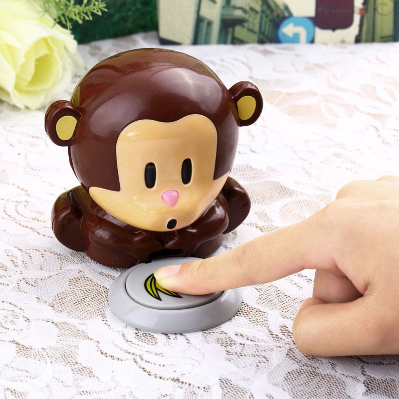 Monkey Nail Polish Dryer Cute Fan Hand Blower Nail Art Varnish ...