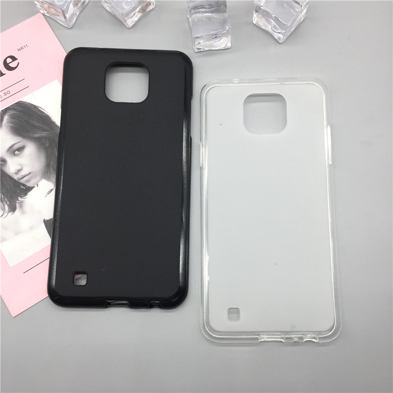 TPU Soft Cases for LG X CAM K580 K580DS Case Slim 360 Protect <font><b>Black</b></font> Color Silicon <font><b>pop</b></font> Back Cover for LG X CAM Case Capa Para image