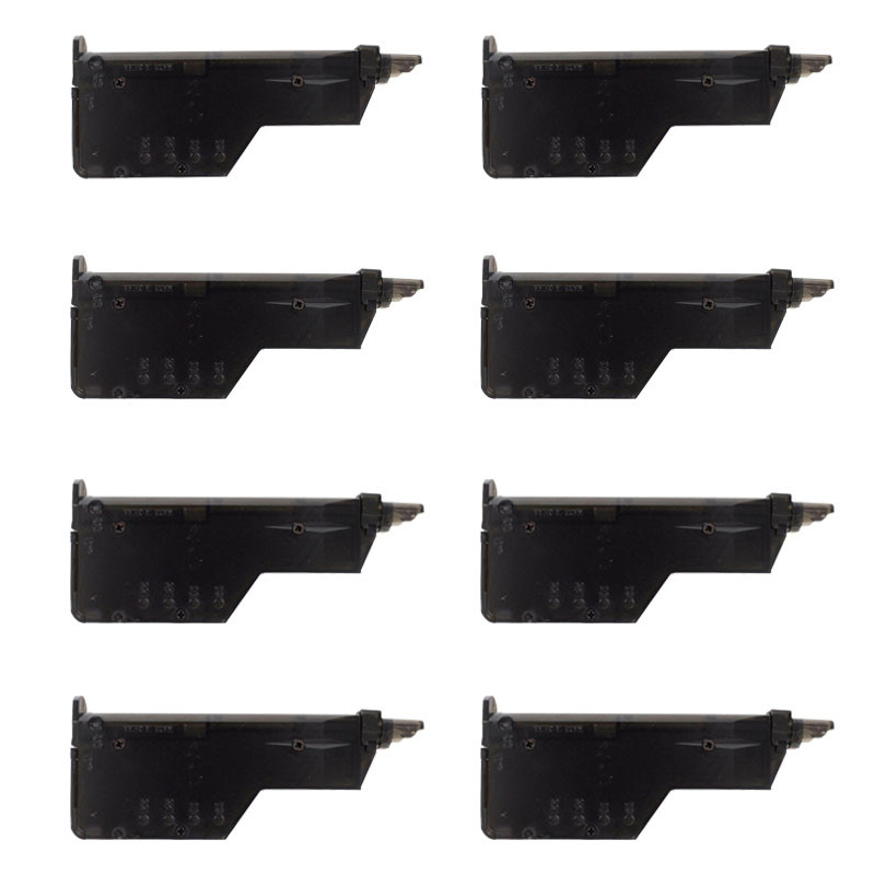 8Pcs Airsoft Paintball Plastic BB Seed Loader Shooting 150rd Quick Speedloader Combat War Games Hunting Bullet Carrier 6mm