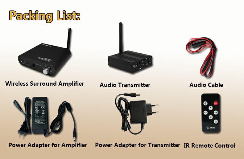 home theater wireless. aliexpress.com : buy tp wireless wta03 wireless digital rear stereo home theater amplifier for 5.1 system audio amplifiers from e