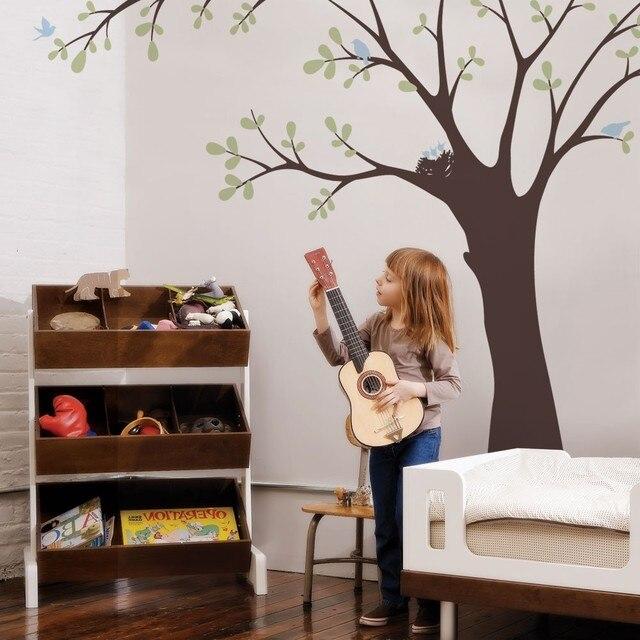 Decke Baum Mit Vogel Und Nest Wandtattoos Baby Kinderzimmer Decor