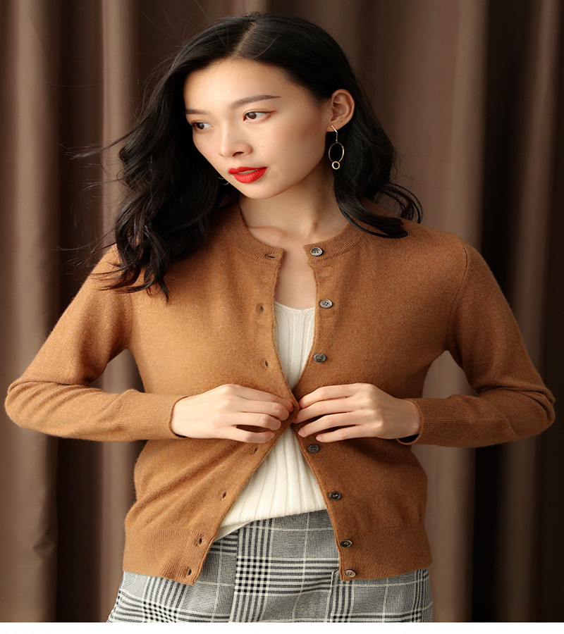 LOVELY JINNUO 2019 NEW spring and summer women ladies girl sweater cardigan 100 cashmere sweater cardigan