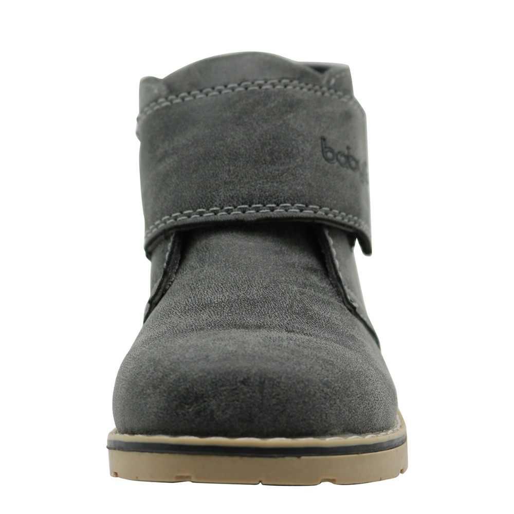 Apakowa ฤดูหนาวรองเท้าเด็ก PU หนังกันน้ำ Martin Boots Snow รองเท้าบูทยี่ห้อเด็กวัยหัดเดินเด็กหญิงฤดูใบไม้ร่วงรองเท้าบูทยาง