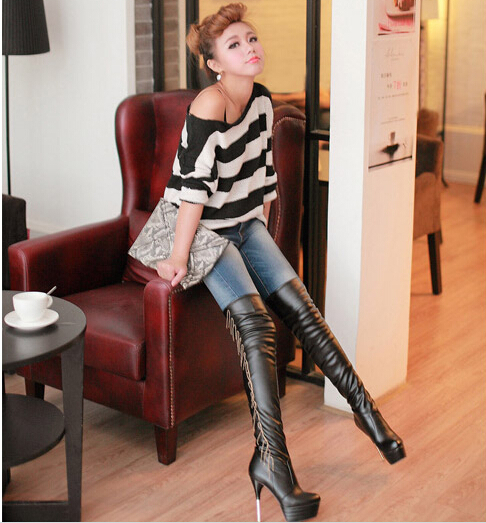 New Korean Style Women High Heels Fashion Women Spring Autumn ...