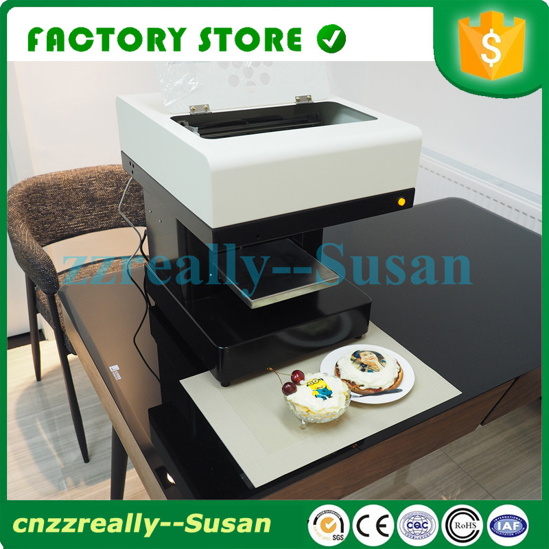 Food Edible Ink Printer Can Print Cookies Flowers Coffee Cake Printing Machine