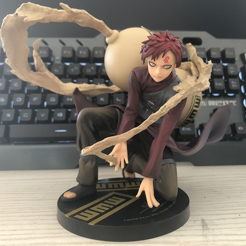 Anime Naruto Shippuden Gaara of the Sand PVC Action Figure Collectible Model Toy 19cm