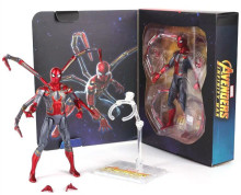 цена Marvel Avengers Super Hero Spiderman Action Figures The Amazing Spider-man Homecoming Toys 16cm онлайн в 2017 году