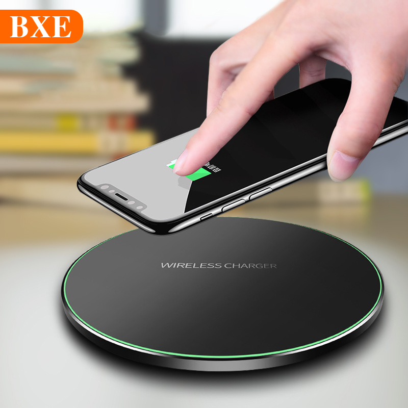 RZP Fast Wireless Charger For Apple iPhone 11 Pro Xs Max XR X 8 Plus Samsung Note10 S9 S10 Plus Wireless Charging Phone Charger Mobile Phone Chargers     - title=
