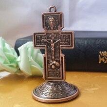 Крест инри перстень из нержавеющей стали Эммануэль с изображением католической святыни жалкий Бог орнамент хесу распятие ягненок Божий Настенный декор 90X48X3 мм