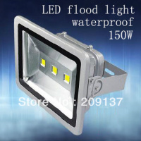 DHL free shipping 150W LED Floodlight, new LED 150W Flood lights, CE ROHS ,waterproof IP67,AC85V 265V ,DC12V 24V