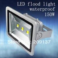 Dhl freies verschiffen 150 Watt LED Flutlicht  neue LED 150 Watt flutlicht  CE ROHS  wasserdicht IP67  AC85V 265V  DC12V 24 V-in Scheinwerfer aus Licht & Beleuchtung bei