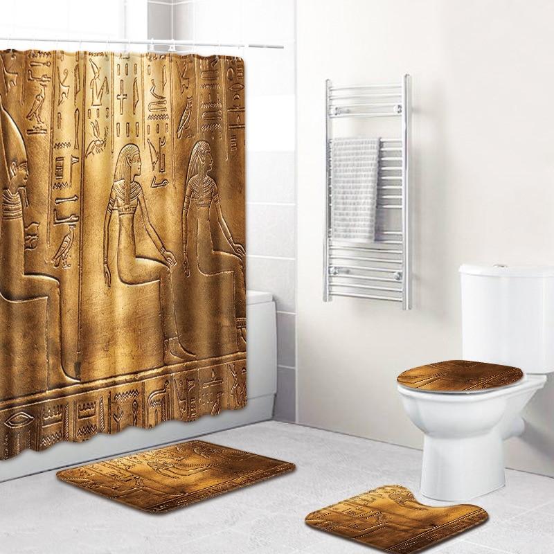 Questa Bossa Mia 4 Piece Bathroom Mats