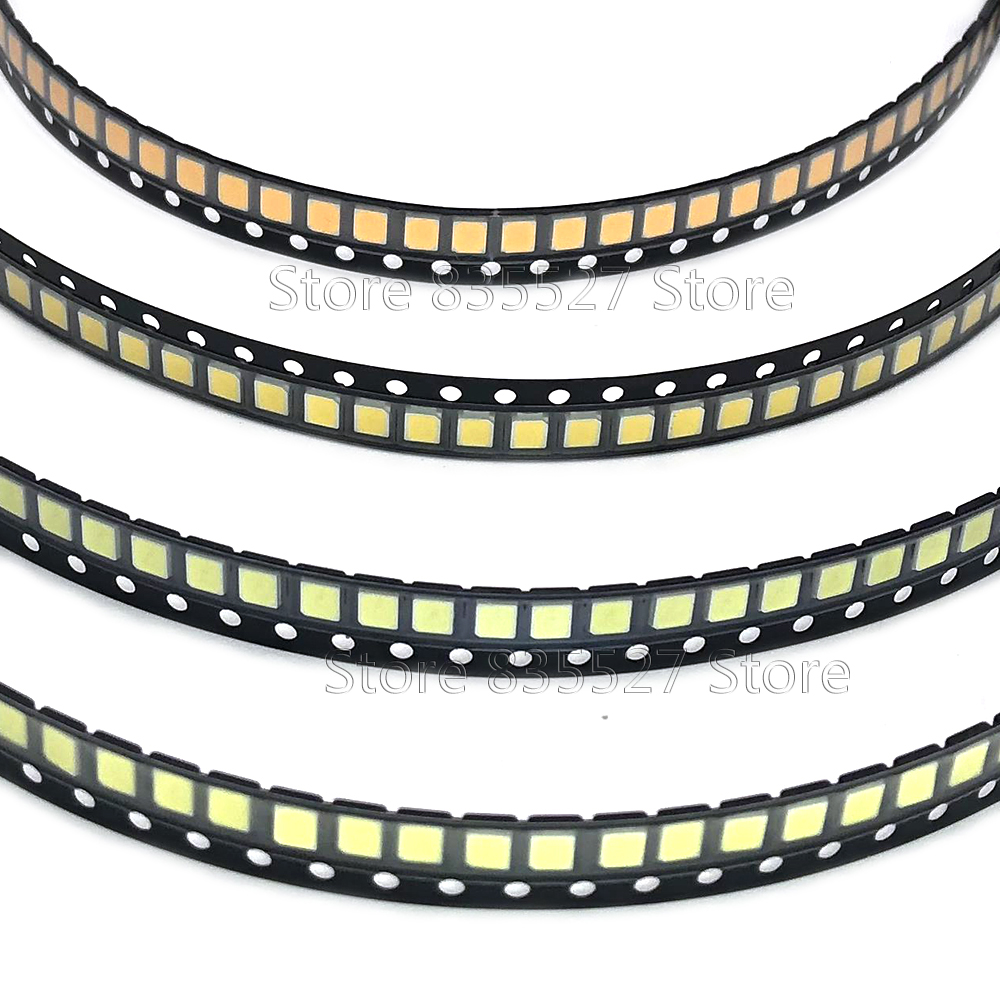 1000PCS/LOT 2835 SMD LED 23-25LM Pure White/natural White/warm White/cool White LED Bright Lamp Beads Light Emitting Diode