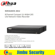 Dahua 4K Video recorder DVR 4ch 8ch 16ch NVR4104HS-4KS2 NVRHS4108-4KS2 NVR4116HS-4KS2 H.265 8MP Resolution