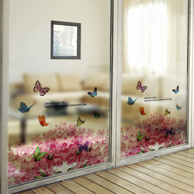 Hot New Decorative Film Waterproof Window Privacy Stained Glass