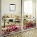 Hot New Película Decorativa Impermeable ventana Privacidad stained glass sticker Puerta de La Oficina En Casa engomada de la película de Vidrio Ventana del Baño