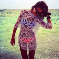 2017 Beach Coverups Beach Cover Up Dress Sarong Bathing Suit Beach Tunic Cover Ups Swimsuit Swimwear